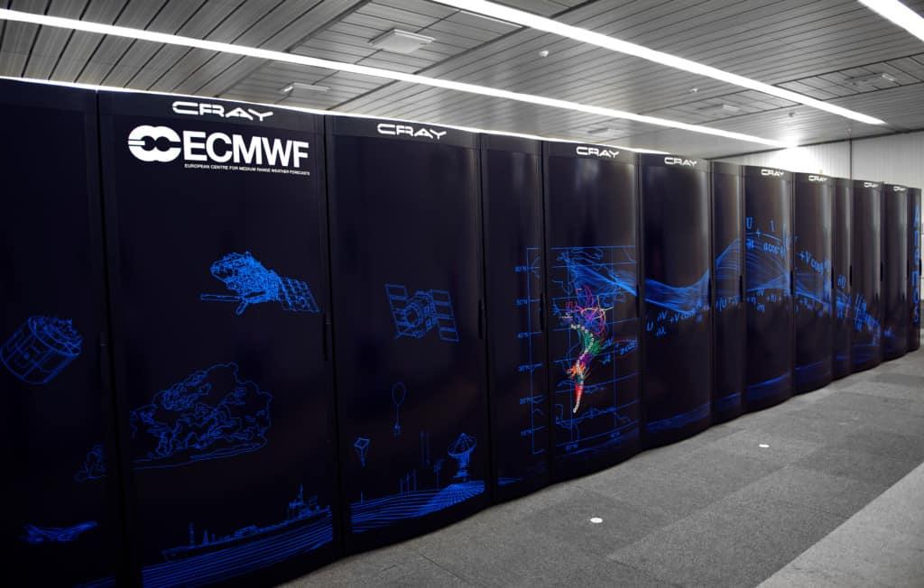 Cray super computer.