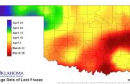 Freezing Temps Return to Oklahoma