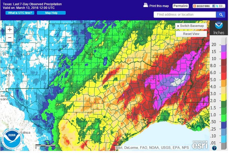 Past Week Rain, Drought, and Severe Weather Update
