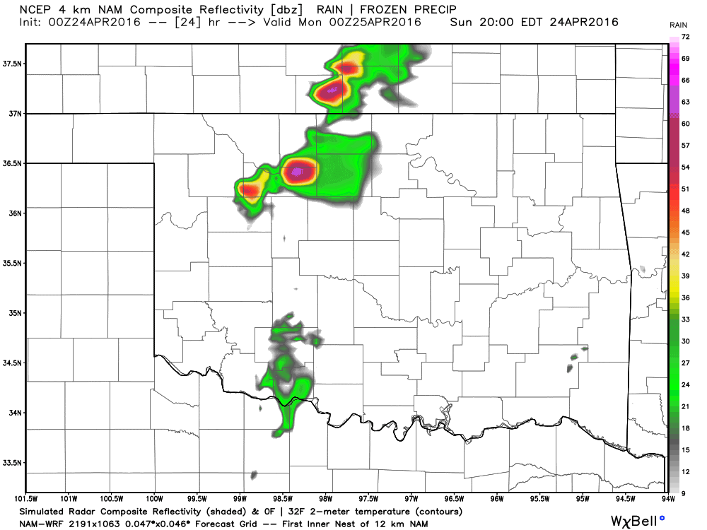 Supercell Storms Return Sunday - ATs Weather