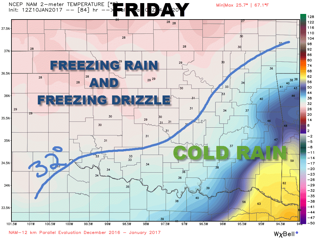 Winter Storm Update - Friday Ice Focus