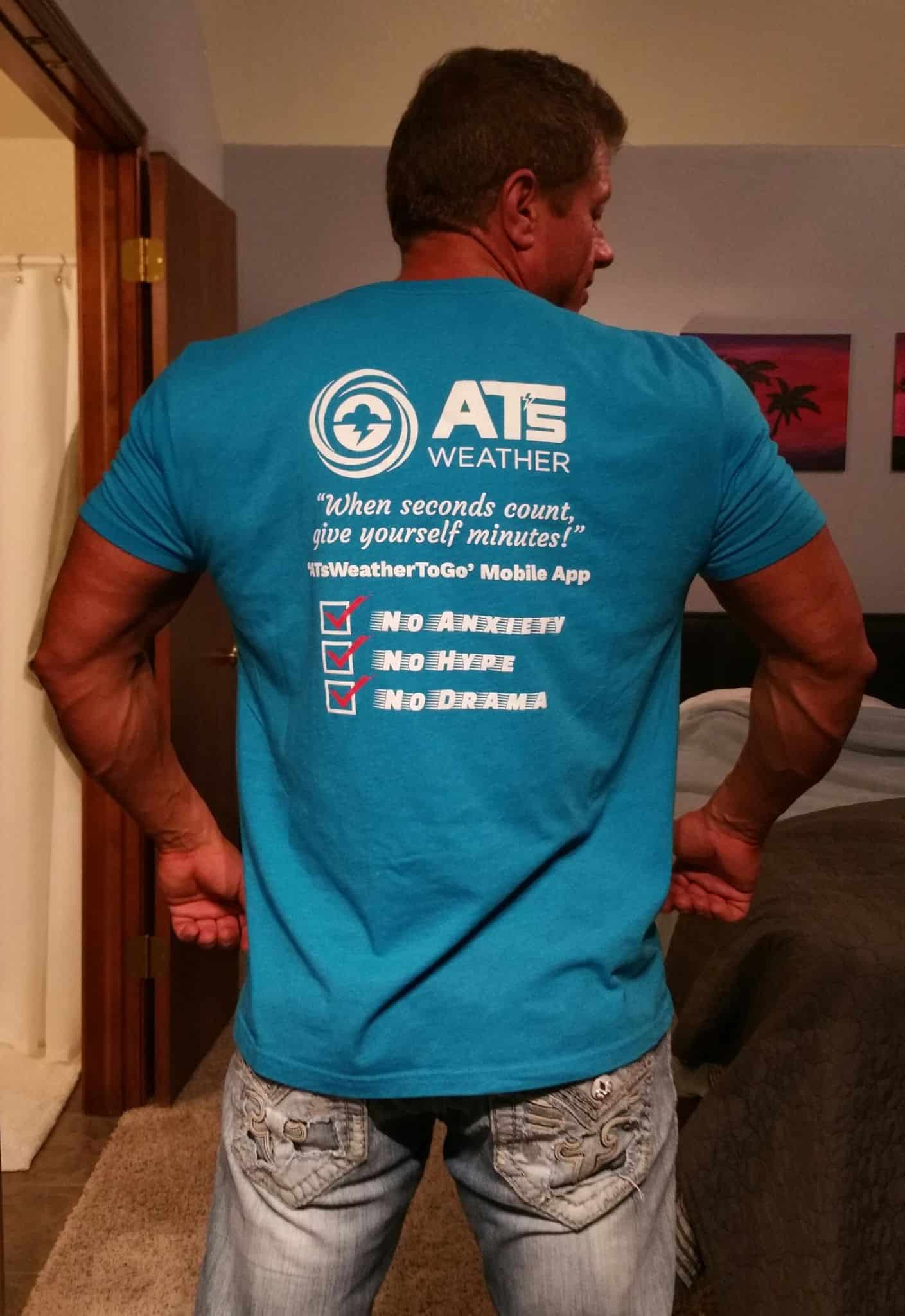 ATs Weather Hoodies and T's are Back for a Limited Time!