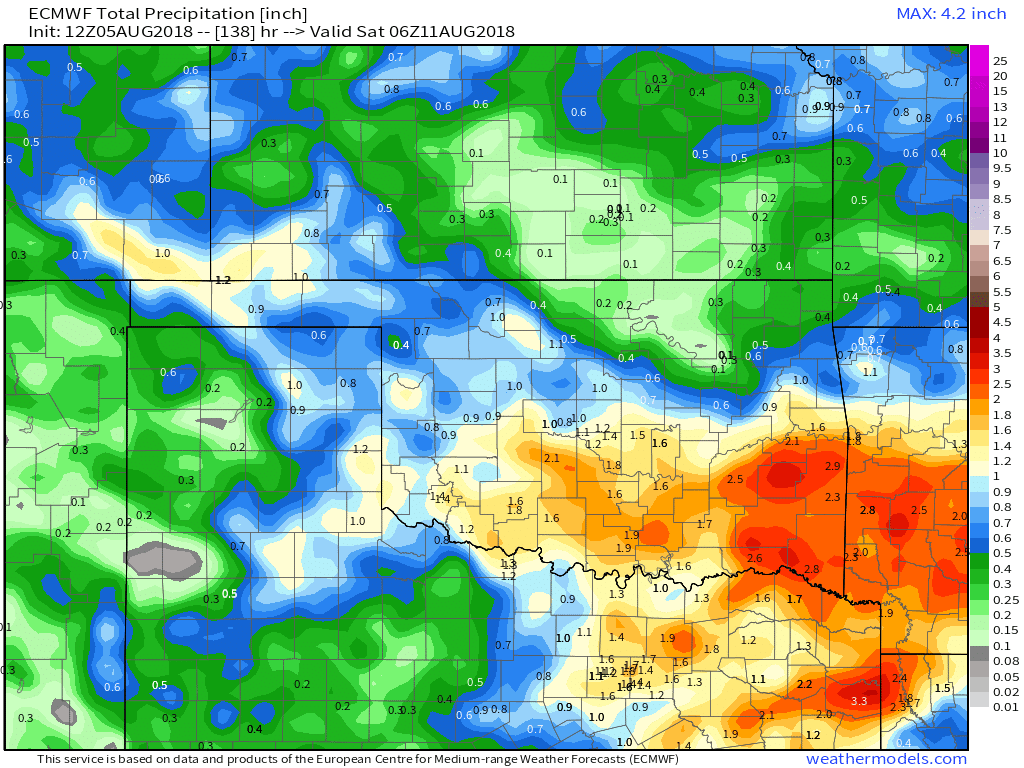 Decent Rainfall Returns This Week