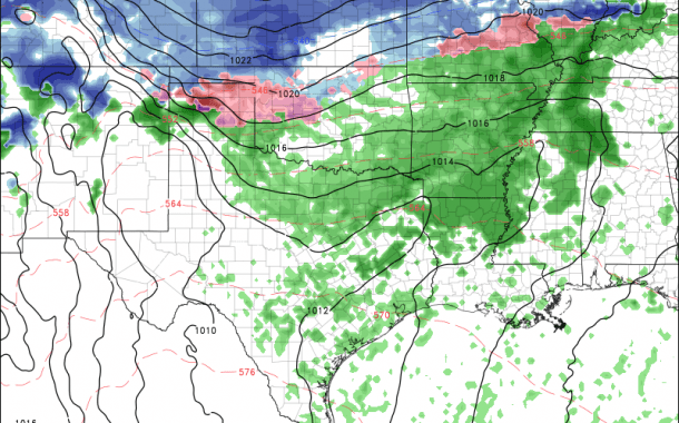 Potential Ice Storm Developing Saturday