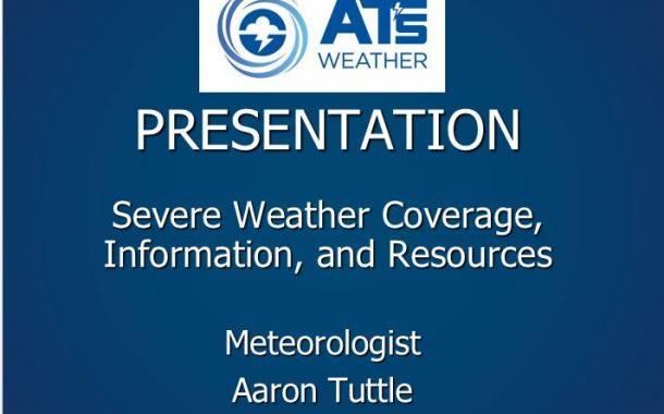 Live Severe Weather Presentation