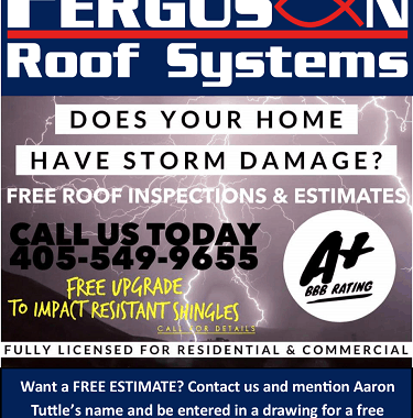 AT's Weather Welcomes FergusonRoof Systems!