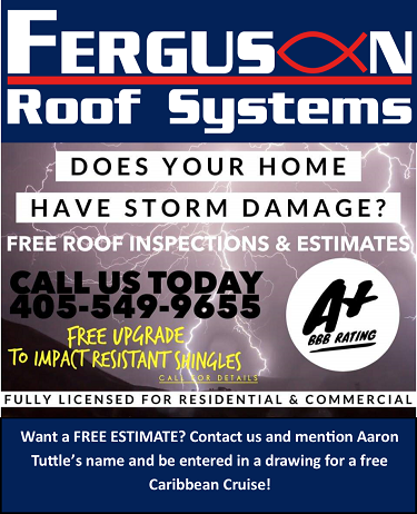 AT's Weather Welcomes Ferguson Roof Systems!